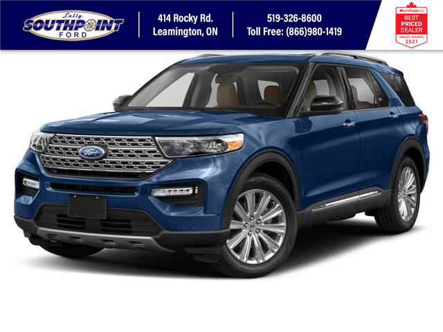 2021 Ford Explorer Limited (Stk: SEX7102) in Leamington - Image 1 of 9