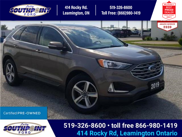 2019 Ford Edge SEL (Stk: S27391A) in Leamington - Image 1 of 30