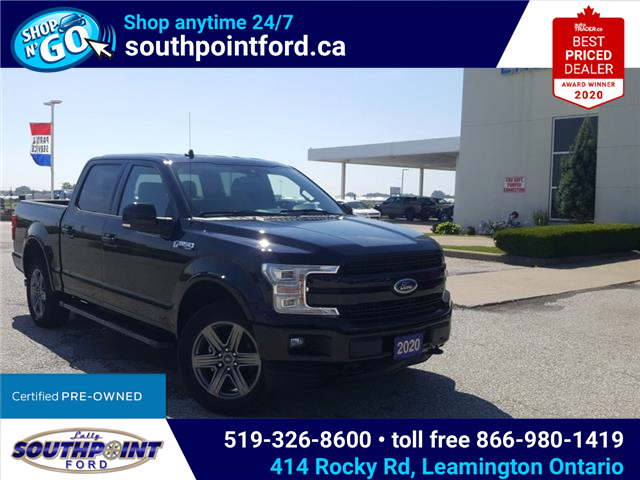 2020 Ford F-150 Lariat (Stk: S6976A) in Leamington - Image 1 of 30