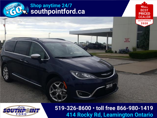 2019 Chrysler Pacifica Limited (Stk: S10678R) in Leamington - Image 1 of 32