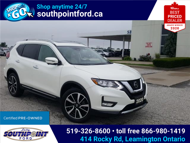 2020 Nissan Rogue SL (Stk: S10682R) in Leamington - Image 1 of 31