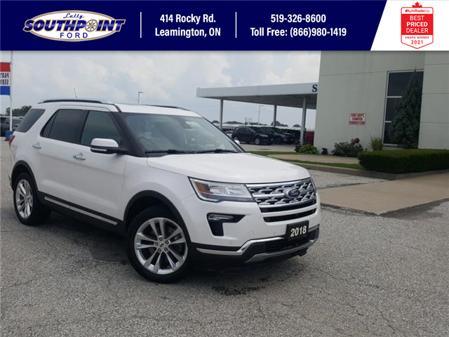 2018 Ford Explorer Limited (Stk: S7016A) in Leamington - Image 1 of 32