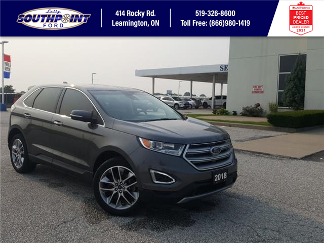 2018 Ford Edge Titanium (Stk: S6952A) in Leamington - Image 1 of 31