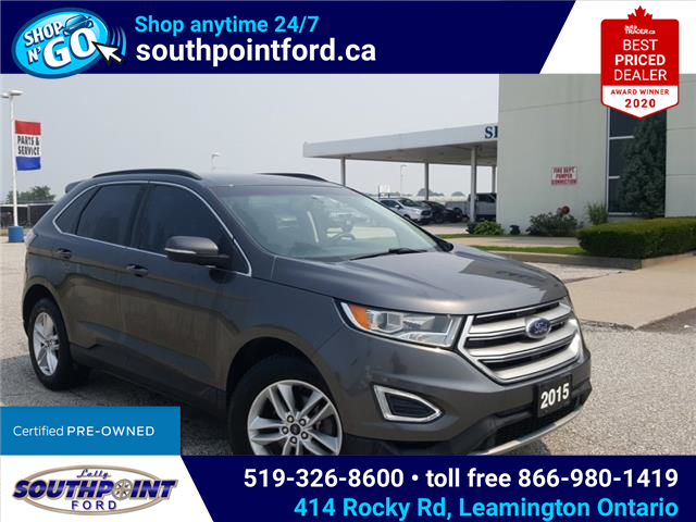 2015 Ford Edge SEL (Stk: S27776A) in Leamington - Image 1 of 27