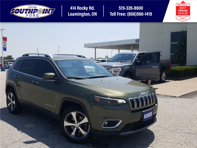 2019 Jeep Cherokee Limited (Stk: S10651B) in Leamington - Image 1 of 30