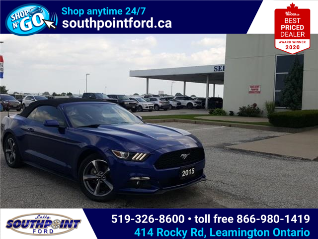 2015 Ford Mustang V6 (Stk: S10691A) in Leamington - Image 1 of 30