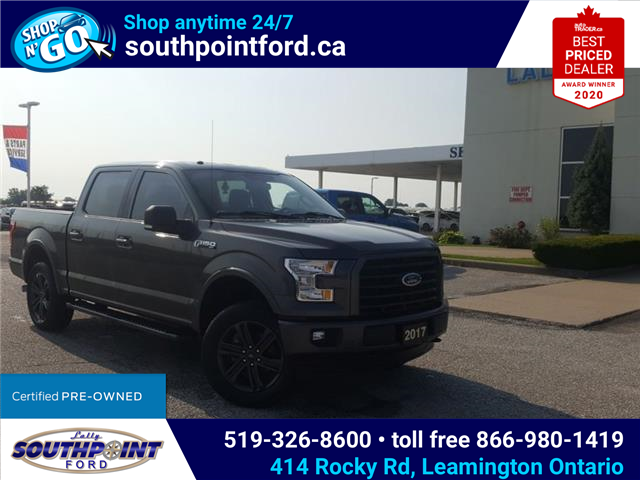 2017 Ford F-150 XLT (Stk: S7027A) in Leamington - Image 1 of 29