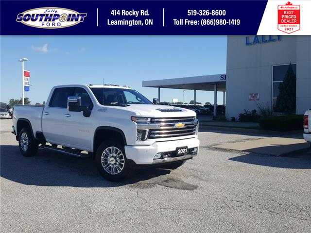 2021 Chevrolet Silverado 2500HD High Country (Stk: S10748R) in Leamington - Image 1 of 29