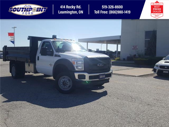 2016 Ford F-550 Chassis XL (Stk: S10750R) in Leamington - Image 1 of 27