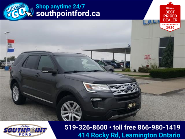 2019 Ford Explorer XLT (Stk: S7110A) in Leamington - Image 1 of 28