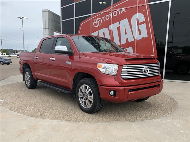 2016 Toyota Tundra Platinum 5.7L V8 (Stk: P1555A) in Medicine Hat - Image 1 of 20