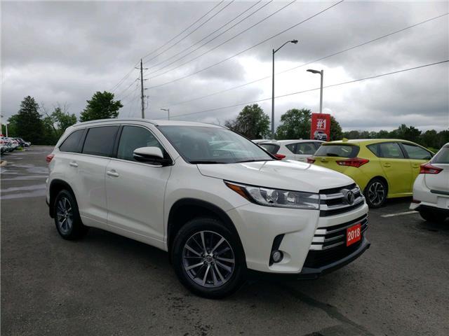 2018 Toyota Highlander XLE 5TDJZRFHXJS537582 P2606 in Whitchurch-Stouffville