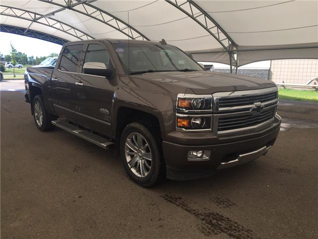 2015 Chevrolet Silverado 1500 High Country (Stk: 124738) in AIRDRIE - Image 1 of 23