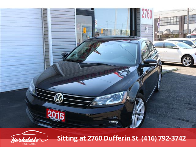 2015 Volkswagen Jetta 2.0 TDI Highline (Stk: ) in North York - Image 1 of 24