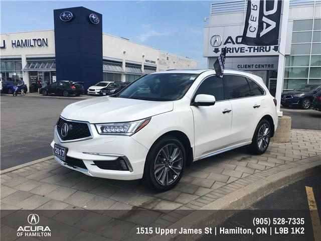 2017 Acura MDX Elite Package (Stk: 1711630) in Hamilton - Image 1 of 16