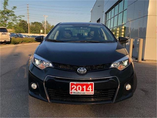 2014 Toyota Corolla S!! JUST TRADED IN !! (Stk: 31310) in Mississauga - Image 2 of 14