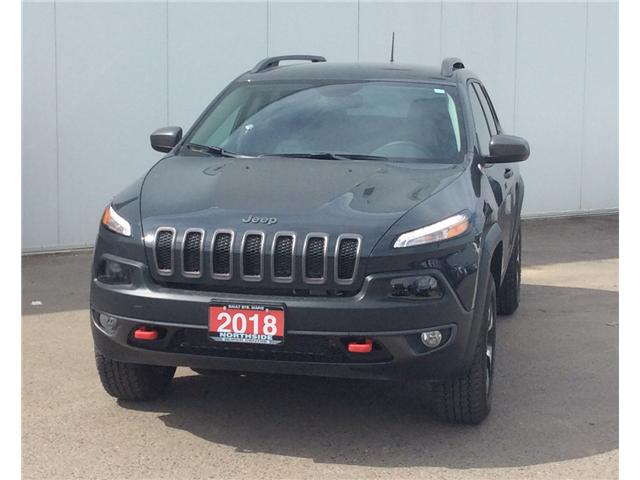 2018 Jeep Cherokee Trailhawk (Stk: T18101A) in Sault Ste. Marie - Image 1 of 10