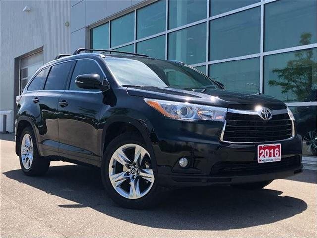 2016 Toyota Highlander LIMITED!! JUST TRADED !! (Stk: 31293) in Mississauga - Image 1 of 23