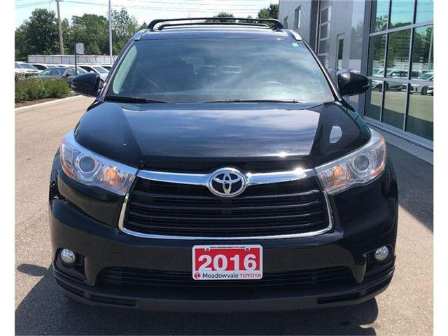 2016 Toyota Highlander LIMITED!! JUST TRADED !! (Stk: 31293) in Mississauga - Image 2 of 23