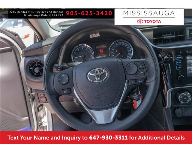 2019 Toyota Corolla CE (Stk: K3025) in Mississauga - Image 2 of 14