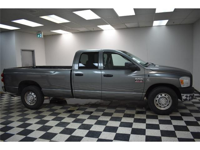 2007 RAM 3500 ST QUAD RWD DIESEL- CRUISE * A/C * POWER LOCKS  (Stk: TRJ320A) in Kingston - Image 1 of 30