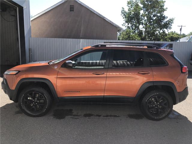 2015 Jeep Cherokee Trailhawk (Stk: 7013) in Fort Macleod - Image 2 of 23