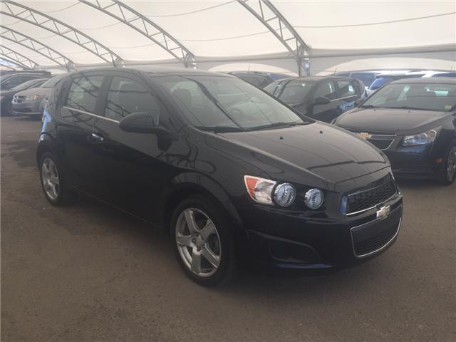 2014 Chevrolet Sonic LT Auto (Stk: 166001) in AIRDRIE - Image 1 of 20