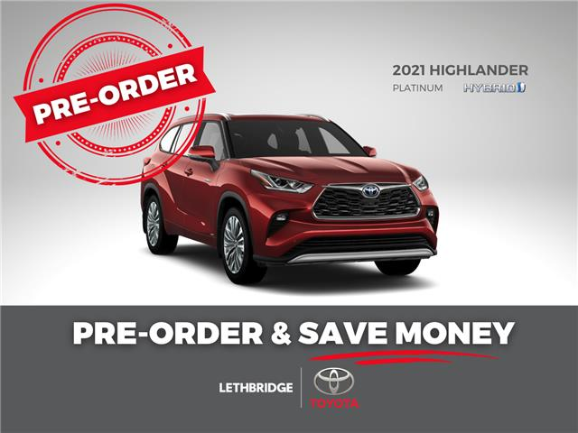 2021 Toyota Highlander Hybrid Limited (Stk: HIHDBRCHCB) in Lethbridge - Image 1 of 1