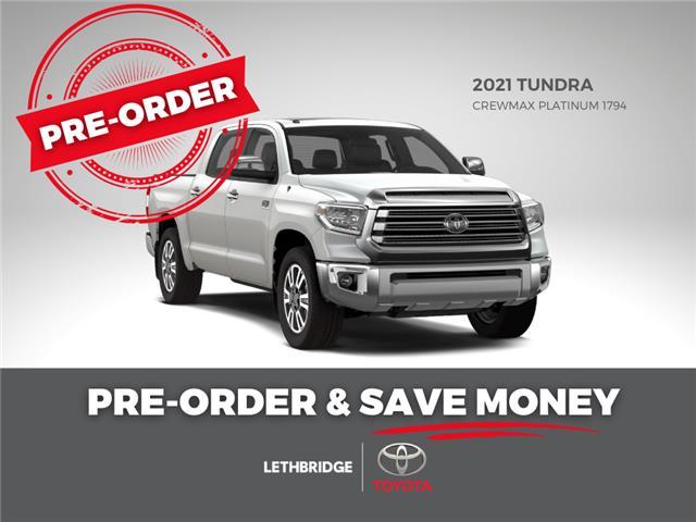 2021 Toyota Tundra Platinum (Stk: TP4AY5F1TB) in Lethbridge - Image 1 of 1