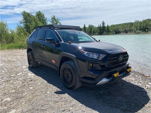 2021 Toyota RAV4 Trail (Stk: 210073) in Cochrane - Image 1 of 18