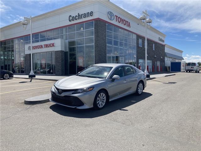 2019 Toyota Camry LE (Stk: 210594A) in Cochrane - Image 1 of 14
