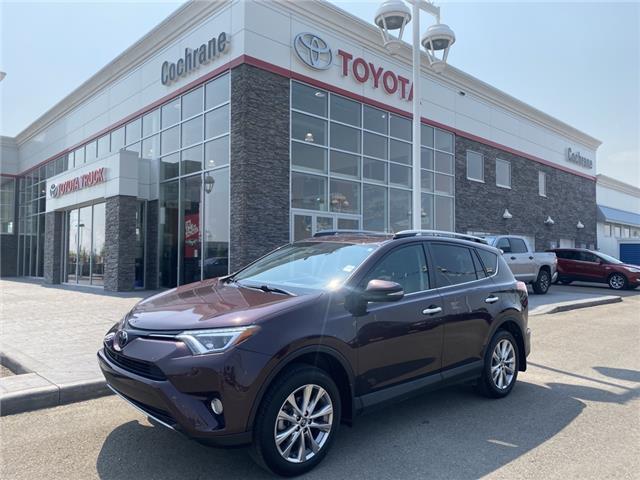 2017 Toyota RAV4 Limited (Stk: 210671A) in Cochrane - Image 1 of 20