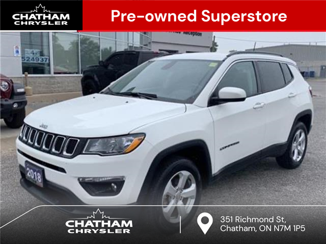 2018 Jeep Compass North (Stk: U04854) in Chatham - Image 1 of 24