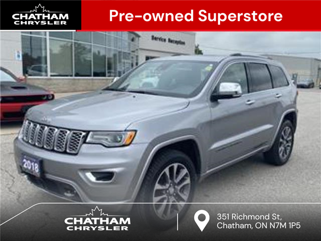 2018 Jeep Grand Cherokee Overland (Stk: N05065A) in Chatham - Image 1 of 23
