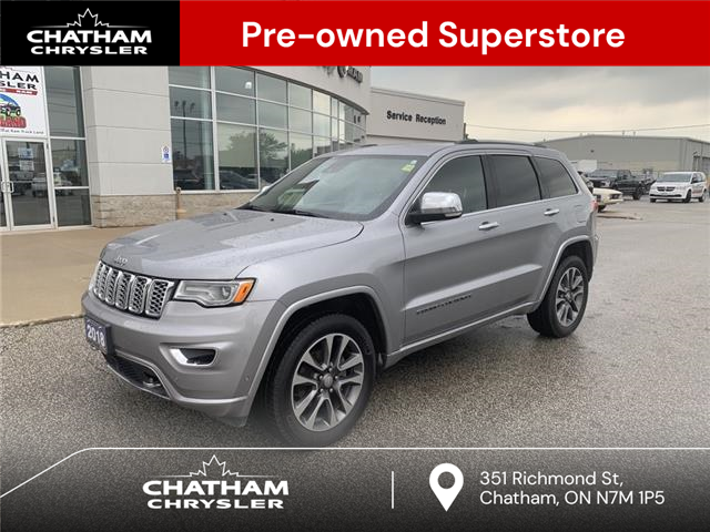 2018 Jeep Grand Cherokee Overland (Stk: N05065A) in Chatham - Image 1 of 27