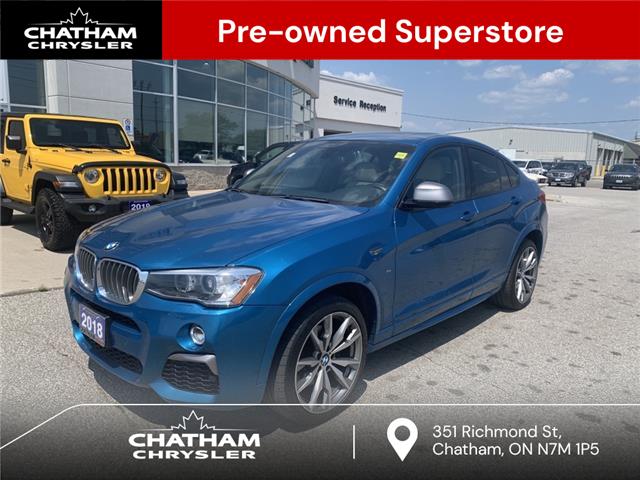 2018 BMW X4 M40i (Stk: U04911) in Chatham - Image 1 of 18