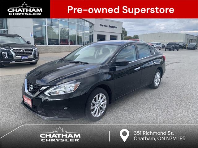2018 Nissan Sentra 1.8 SV (Stk: U04952) in Chatham - Image 1 of 19