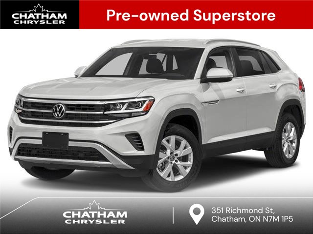 2020 Volkswagen Atlas Cross Sport 3.6 FSI Execline (Stk: BUILDAB) in Chatham - Image 1 of 9