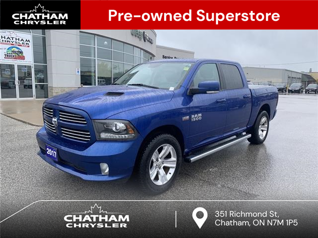 2017 RAM 1500 Sport (Stk: N05105A) in Chatham - Image 1 of 23