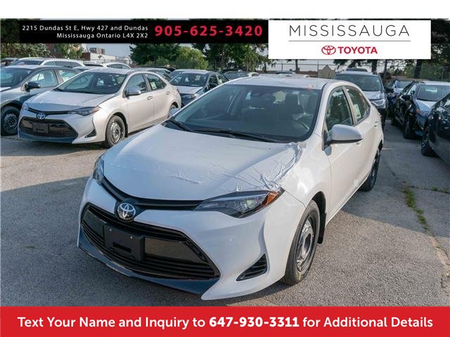 2019 Toyota Corolla CE (Stk: K3036) in Mississauga - Image 1 of 14
