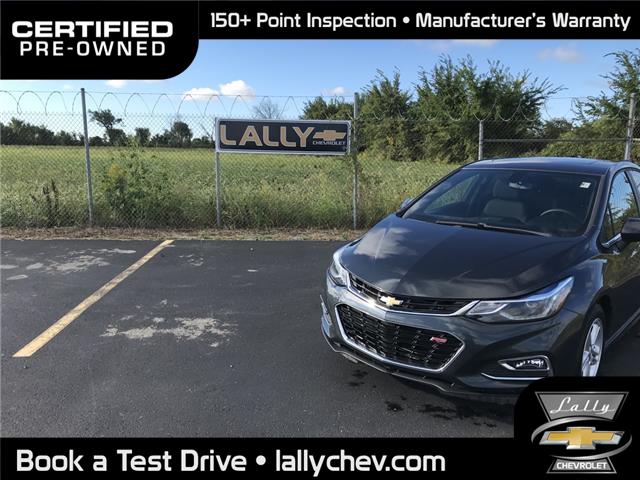 2018 Chevrolet Cruze LT Auto (Stk: R02729) in Tilbury - Image 1 of 22