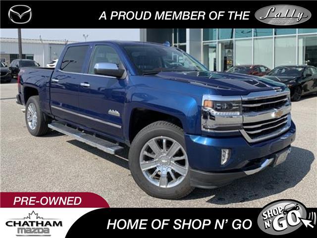 2016 Chevrolet Silverado 1500 High Country (Stk: UM2586) in Chatham - Image 1 of 28