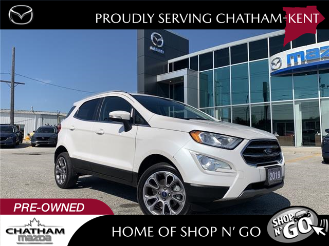 2019 Ford EcoSport  (Stk: UM2685) in Chatham - Image 1 of 23