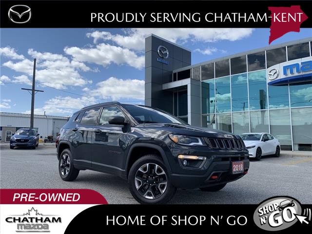 2018 Jeep Compass Trailhawk (Stk: UM2689) in Chatham - Image 1 of 20