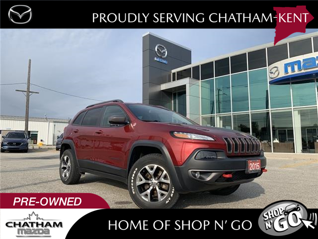 2015 Jeep Cherokee  (Stk: UM2684A) in Chatham - Image 1 of 21