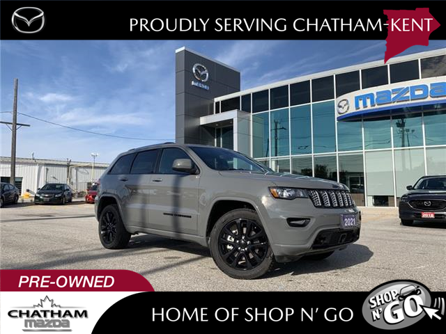 2021 Jeep Grand Cherokee  (Stk: NM3573A) in Chatham - Image 1 of 19
