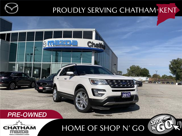 2017 Ford Explorer Limited (Stk: NM3567A) in Chatham - Image 1 of 24