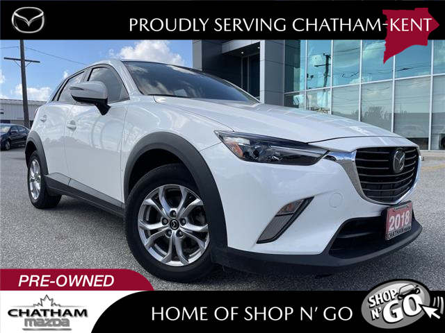 2018 Mazda CX-3 GS (Stk: -) in Chatham - Image 1 of 21