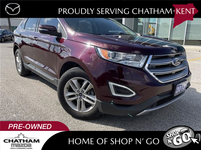 2018 Ford Edge SEL (Stk: -) in Chatham - Image 1 of 22
