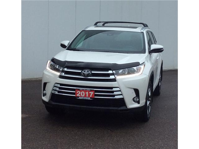 2017 Toyota Highlander Limited (Stk: P4678A) in Sault Ste. Marie - Image 1 of 11